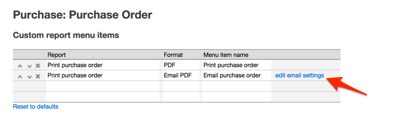 , Emailing Purchase Order and Sales Orders