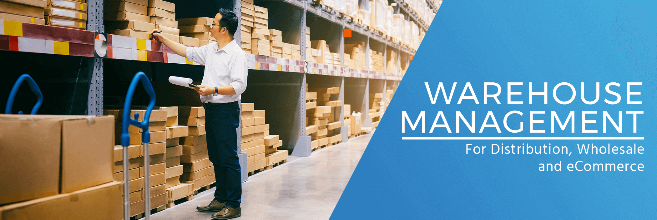 warehouse management for wholesalers distributors and ecommerce